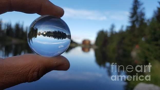 Magic Lake #7 by Ram Photography