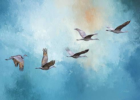 Magic Of Beginnings - Bird Art by Jordan Blackstone