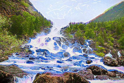 Magic SkyWaterfall by Arthur Charpentier
