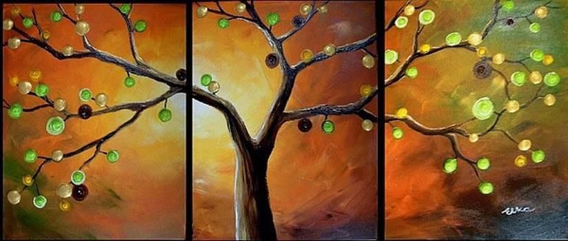 Magic tree  by Elizabeth Kawala