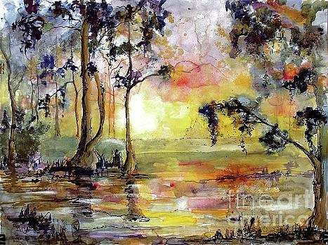 Ginette Callaway - Magic Wetland Sunrise Morning