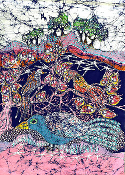 Magical Birds by Carol  Law Conklin