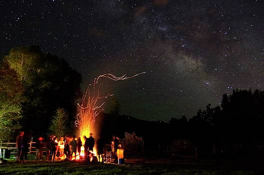 Magical Bonfire by Matt Helm