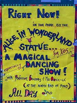 Magical Dancing Show Poster by Cornelis Verwaal