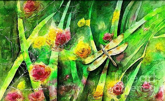 Magical Dragonfly Morning by Diane Splinter