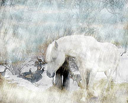 Magical Moments On A Snowy Winter's Day by Patricia Keller