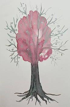 Magical Pink Tree by Rita Fetisov