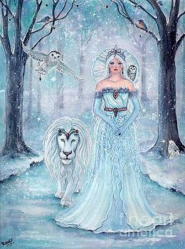 Magical winter stroll by Renee Lavoie