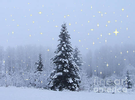 Magical Winterscape by Marianne NANA Betts