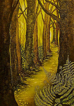 Magique Foret de L'or by Emma Childs