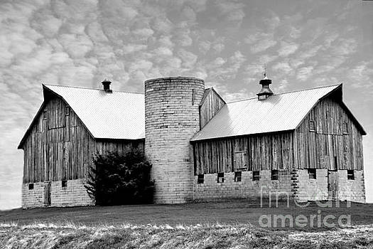 Magnificent Barn In The Sky by Kathy M Krause