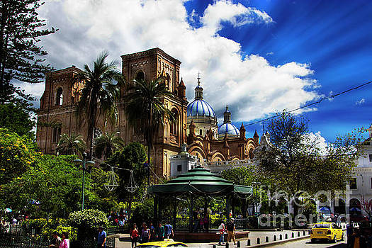 Magnificent Center Of Cuenca, Ecuador III by Al Bourassa