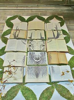 Magnolia Book Stag by Donna Wilson