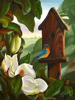Magnolia Cottage by Sherry Cullison