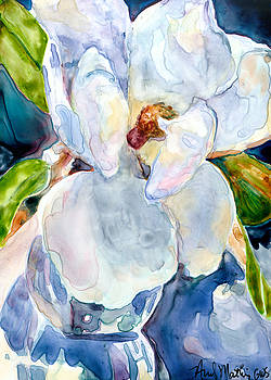 Magnolia in a Vase by Andy  Mathis