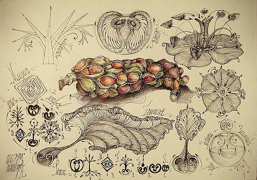 Magnolia morphogenesis by Gabriel Kelemen