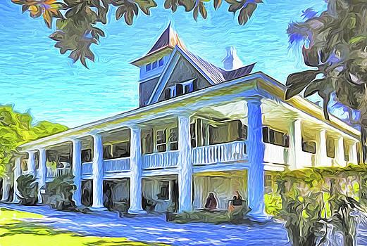 Dennis Cox Photo Explorer - Magnolia Plantation House
