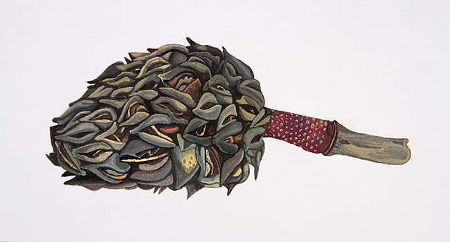 Magnolia Seedpod by Rachel Osteyee