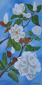 Magnolia by Zdravka Boncic