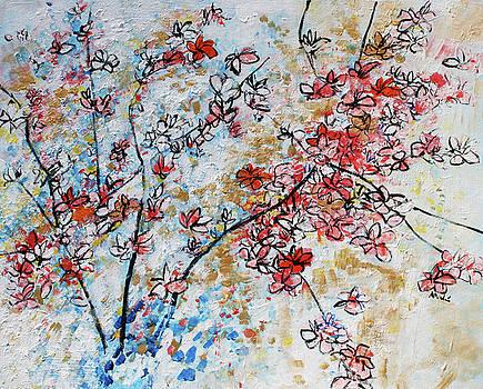 Magnolias 5 201712 by Alyse Radenovic