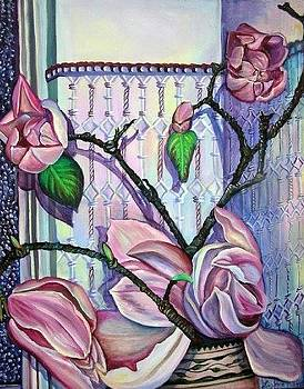 Magnolias by Elizabeth Eve King