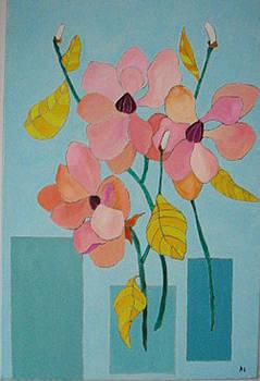 Magnolias by Martin Silverstein