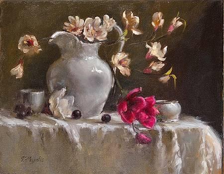 Magnolias by Viktoria K Majestic