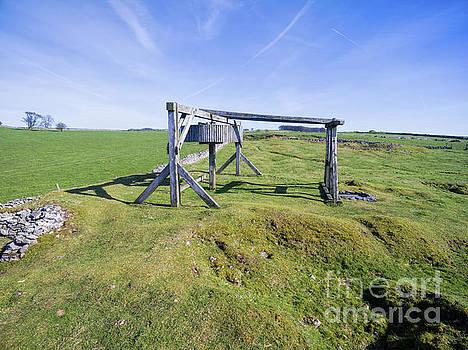 Magpie mine, mine, lead mine, derbyshire, peak district, mining, by Steev Stamford