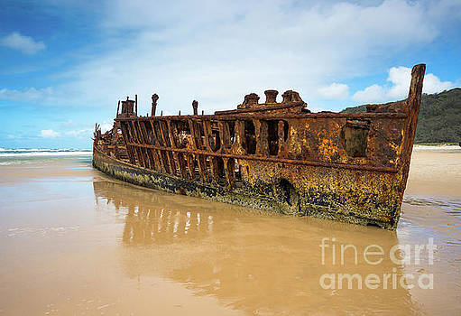 Maheno Shipwreck by Andrew Michael