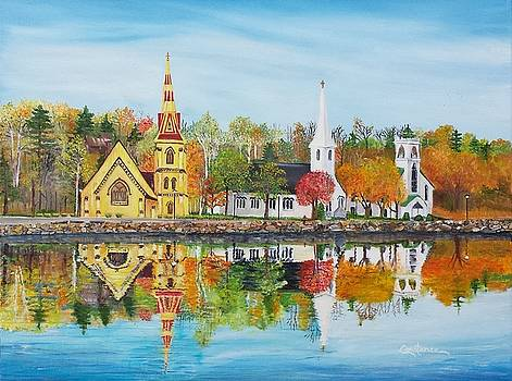Mahone Bay by Connie Rowsell