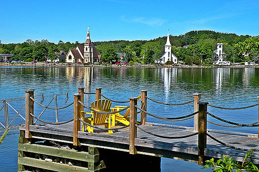 Mahone Bay Nova Scotia by Brian Chase