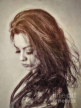 MAID in BURNT SIENNA  ... by Chuck Caramella