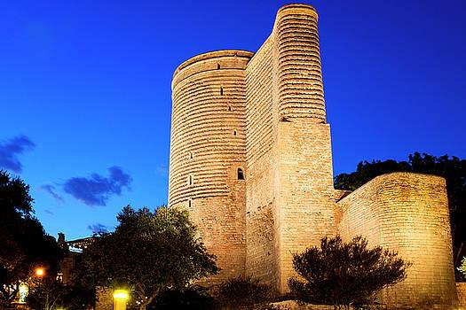 Maiden Tower by Fabrizio Troiani