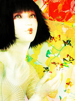 Maiko and Butterflies by Shanina Conway