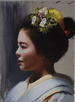 Maiko Katsuhina - Geisha by Phil Couture