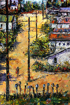 Mail Boxes Chavez Revine by Debra Hurd