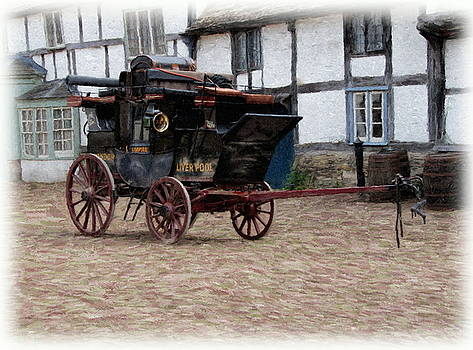 Paul Gulliver - Mail Coach at Lacock