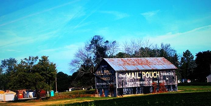 Mail Pouch Barn-6 by R A W M