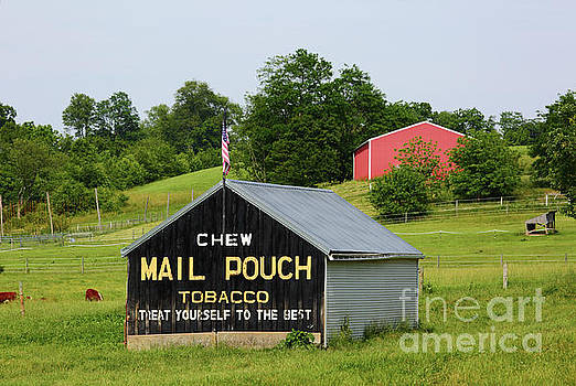 James Brunker - Mail Pouch Barn in Rural Maryland