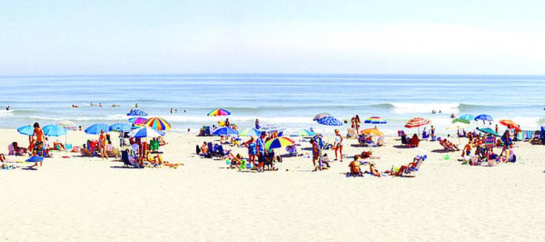 Main Beach East Hampton NY by Peter Pfeffer