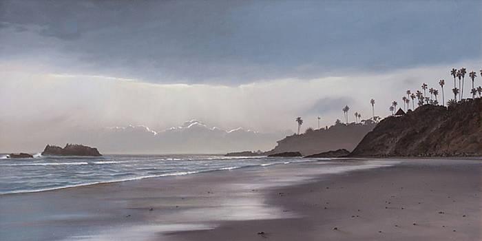 Cliff Wassmann - Main Beach Reflections