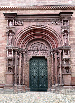 Main Porch of Basel Minster by Louise Heusinkveld