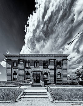Main Post Office, Westville, Nova Scotia by Ken Morris