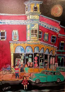 Main Street 1940 by Michael Litvack