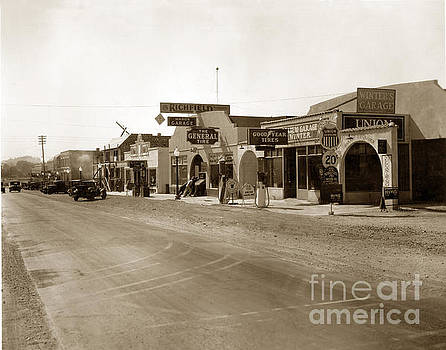 California Views Mr Pat Hathaway Archives - Main Street Atascadero California Circa 1925