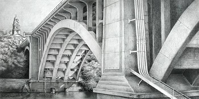 Main Street Bridge, Ft. Worth, Texas by Daniele Jones