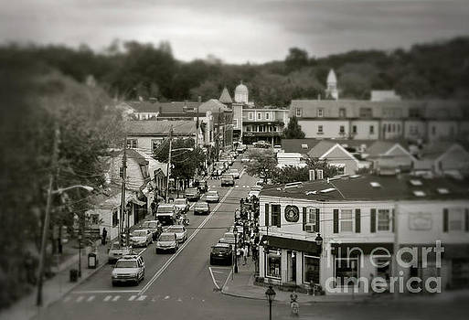 Main Street, Port Jefferson, NY by Paul Cammarata