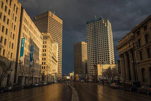 Bryan Scott - Main Street Sunset