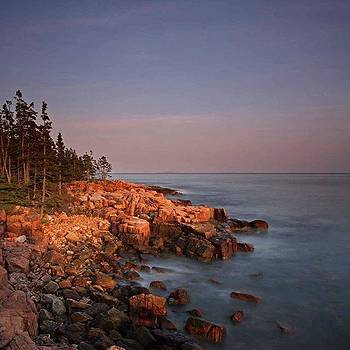 Maine Acadia National Park First Light by Juergen Roth