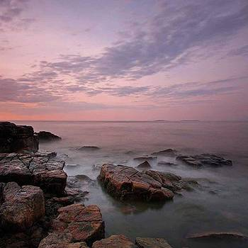 Maine Acadia National Park Seawall by Juergen Roth